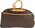 "Luxury Accessories:Travel/Trunks, Louis Vuitton Brown Monogram Coated Canvas Eole 60 Rolling Duffle Bag. Condition: 4. 23.5"" Width x 14"" Height x 13"" De..."
