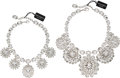 Luxury Accessories:Accessories, Dolce & Gabbana Set of Two: Crystal Necklaces. Condition: 2. See Extended Condition Report for Sizes.... ... (Total: 2 )