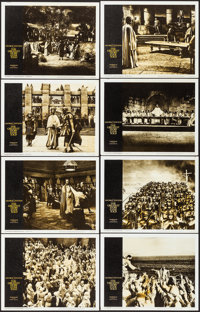 """The Greatest Story Ever Told (United Artists, 1965). Very Fine. Lobby Card Set of 8 (11"""" X 14""""). Drama. ... (T..."""