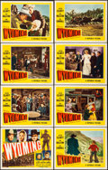 """Movie Posters:Western, Wyoming & Other Lot (Republic, 1947). Overall: Very Fine. Lobby Card Sets of 8 (3 Sets) (11"""" X 14""""). Western.. ... (Total: 24 Items)"""