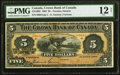 Canadian Currency, Canada Crown Bank of Canada $5- Toronto 1.6.1904 C...