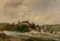 Fine Art - Painting, American, Alfred H. Vickers (British, 1853-1907)Rushi...