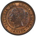 Canada: Victoria 4-Piece Lot of Certified Assorted Cents,... (Total: 4 coins)