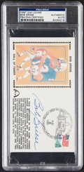 Autographs:Post Cards, 1990 Bob Griese Signed First Day Cover, PSA/DNA Authentic....