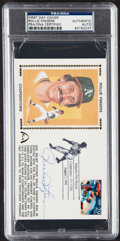 Autographs:Post Cards, 1992 Rollie Fingers Signed First Day Cover, PSA/DNA Authentic....