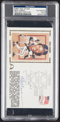 Autographs:Post Cards, 1991 Rod Carew Signed First Day Cover, PSA/DNA Authentic....