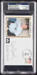 Autographs:Post Cards, 1986 Roger Clemens Signed First Day Cover, PSA/DNA Authentic....