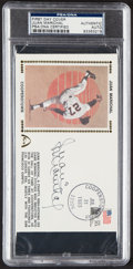 Autographs:Post Cards, 1983 Juan Marichal Signed First Day Cover, PSA/DNA Authentic....