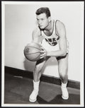 Basketball Collectibles:Photos, c. 1950s Frank Selvy Photograph - Image Used for his 1957-58 Topps Rookie Card....