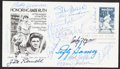 Autographs:Post Cards, 1983 Honoring Babe Ruth Multi-Signed First Day Cover (15 Signatures)....