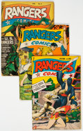 Golden Age (1938-1955):War, Rangers Comics Group of 12 (Fiction House, 1943-48) Condition: Average VG-.... (Total: 12 Comic Books)