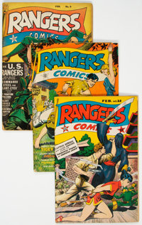 Rangers Comics Group of 12 (Fiction House, 1943-48) Condition: Average VG-.... (Total: 12 Comic Books)