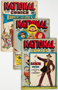 National Comics Group of 12 (Quality, 1945-48) Condition: Average VG+.... (Total: 12 Comic Books)