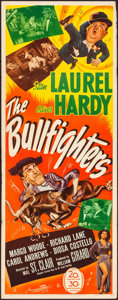 """Movie Posters:Comedy, The Bullfighters (20th Century Fox, 1945). Folded, Very Fine-. Insert (14"""" X 36""""). Comedy.. ..."""