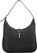 Luxury Accessories:Bags, Hermès 31cm Black Clemence Leather Trim Bag with PalladiumHardware. D Square, 2000. Condition: 2