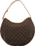 "Luxury Accessories:Bags, Louis Vuitton Brown Monogram Coated Canvas Croissant GM Bag. Condition: 2. 15"" Width x 11"" Height x 3.5"" Depth. ..."