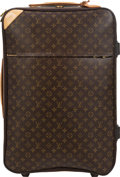 "Luxury Accessories:Travel/Trunks, Louis Vuitton Brown Monogram Coated Canvas Pegase 70 Suitcase. Condition: 3. 17"" Width x 27"" Height x 10"" Depth. ..."