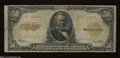Large Size:Gold Certificates, Fr. 1200 $50 1922 Gold Certificate Very Good....