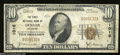 National Bank Notes:Colorado, Denver, CO - $10 1929 Ty. 1 The First NB Ch. # 1016