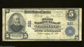 National Bank Notes:Maine, Portland, ME - $5 1902 Plain Back Fr. 598 The First NB ...
