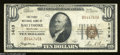 National Bank Notes:Maryland, Baltimore, MD - $10 1929 Ty. 1 The First NB Ch. # 1413