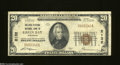 National Bank Notes:Wisconsin, Green Bay, WI - $20 1929 Ty. 1 The Kellogg NB Ch. # ...