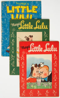 Four Color - Little Lulu-Related Group of 10 (Dell, 1945-47) Condition: Average VG/FN.... (Total: 10 Comic Books)