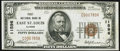 East Saint Louis, IL - $50 1929 Ty. 1 The First NB Ch. # 11596 Very Fine