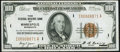Low Serial Number Fr. 1890-I $100 1929 Federal Reserve Bank Note. Very Fine