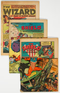 Golden Age (1938-1955):Superhero, MLJ Golden Age Coverless and Partial Cover Group of 6 (MLJ Magazines, 1940s) Condition: Average PR.... (Total: 6 Comic Books)