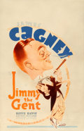 "Movie Posters:Comedy, Jimmy the Gent (Warner Brothers, 1934). Fine+. Window Card (14"" X 22"").. ..."
