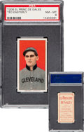 Baseball Cards:Singles (Pre-1930), 1909-11 T206 El Principe De Gales Ted Easterly PSA NM-MT 8 - None Higher. ...