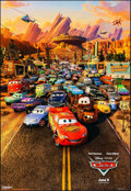 """Movie Posters:Animation, Cars (Buena Vista, 2006). Rolled, Very Fine+. One Sheet (26.75"""" X 39"""") SS Advance. Animation.. ..."""
