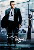 "Movie Posters:James Bond, Casino Royale (MGM, 2006). Rolled, Very Fine+. One Sheet (26.75"" X 39.75"") SS Advance. James Bond.. ..."