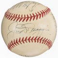 Autographs:Baseballs, 1951-59 Greats & Hall of Famers Multi-Signed Baseball (6 Signatures)....