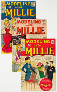 Modeling with Millie Group of 22 (Marvel, 1963-66) Condition: Average FN+.... (Total: 22 Comic Books)