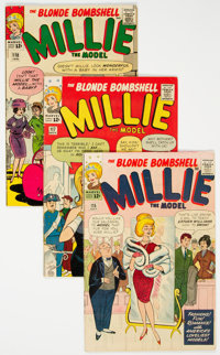 Millie the Model Group of 46 (Marvel, 1963-72) Condition: Average FN+.... (Total: 46 Comic Books)