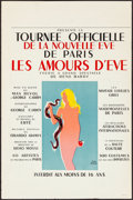 "Movie Posters:Miscellaneous, Les Amours D'Eve (c.1950). Rolled, Very Fine-. French Poster (15.75"" X 23.75"") Paul Colin Artwork. Miscellaneous.. ..."