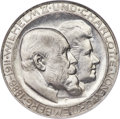"German States:Württemberg, German States: Württemberg. Wilhelm II ""High H"" Wedding Anniversary 3 Mark 1911-F MS66 NGC,..."