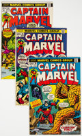 Silver Age (1956-1969):Superhero, Captain Marvel Group of 9 (Marvel, 1968-73) Condition: Average VF/NM.... (Total: 9 Comic Books)
