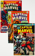 Silver Age (1956-1969):Superhero, Captain Marvel Group of 7 (Marvel, 1968-74) Condition: Average NM-.... (Total: 7 Comic Books)