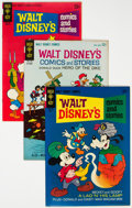 Silver Age (1956-1969):Cartoon Character, Walt Disney's Comics and Stories Group of 40 (Gold Key/Dell, 1961-78) Condition: Average VF+.... (Total: 40 )
