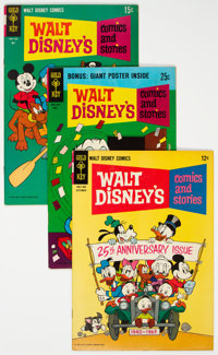 Walt Disney's Comics and Stories Group of 75 (Gold Key, 1963-79) Condition: Average VF-.... (Total: 75 )