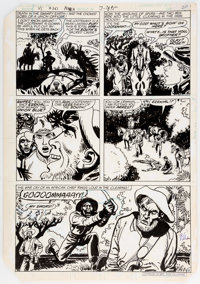 Ric Estrada Unknown Soldier #261 Story Page 4 Original Art (DC, 1982)