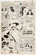Original Comic Art:Panel Pages, Ric Estrada and Vince Colletta Wonder Woman #207 Story Page 13 Original Art (DC, 1973)....