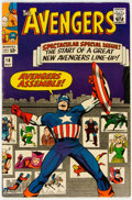 Silver Age (1956-1969):Superhero, The Avengers #16 (Marvel, 1965) Condition: FN/VF....