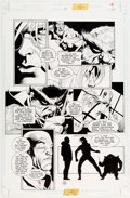 Original Comic Art:Panel Pages, Joe Quesada and Kevin Nowlan Batman: Sword of Azrael #3 Story Page 16 Original Art (DC, 1992). ...