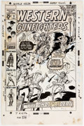 Original Comic Art:Covers, Dick Ayers Western Gunfighters #3 Cover Original Art (Marvel, 1970). ...