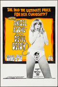 """Movie Posters:Adult, Angel Above - And The Devil Below (Martin Films Inc., 1974). Folded, Very Fine-. One Sheet (28"""" X 42""""). Adult.. ..."""