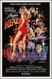 """Angel of H.E.A.T (Studio Pan-Imago, 1982). Folded, Very Fine-. One Sheet (27"""" X 41""""). Action"""
